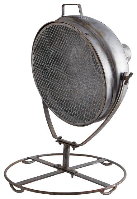 Lampe orientable en m tal h 60 cm phare - Lampe a poser industriel ...