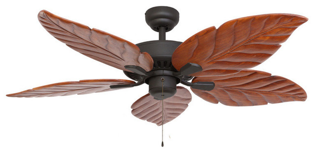 Punta Cana 52 Indoor Ceiling Fan Bronze Tropical