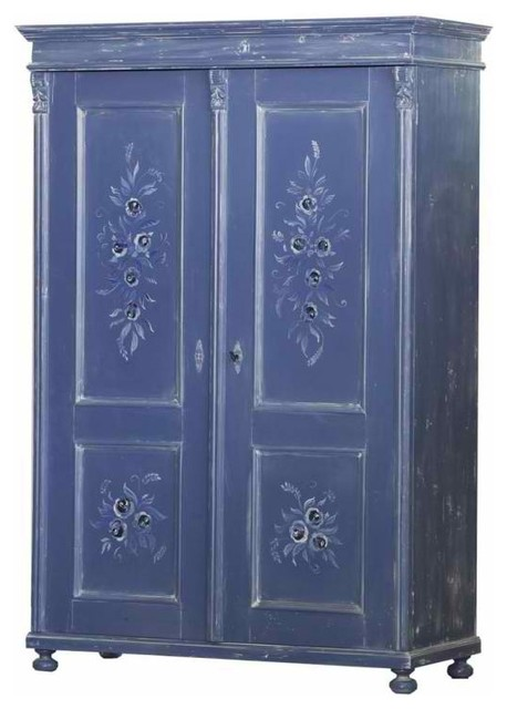 double armoire eclectic armoires and wardrobes new. Black Bedroom Furniture Sets. Home Design Ideas