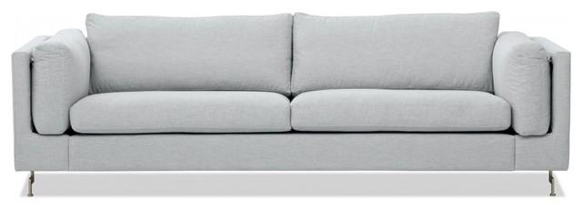 3 sitzer sofa omnia 322 i silber modern sofas by fashion4home gmbh. Black Bedroom Furniture Sets. Home Design Ideas