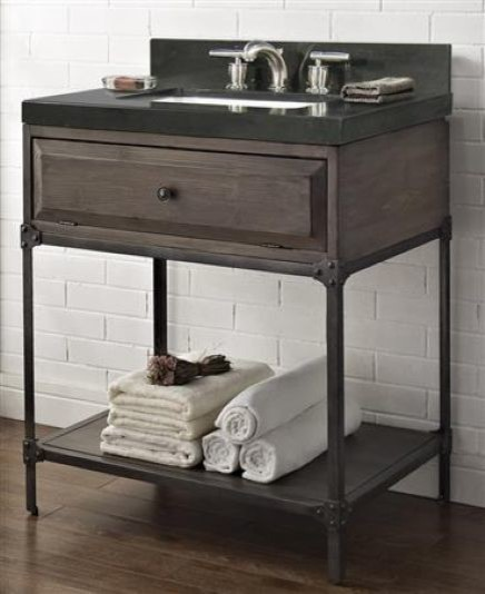 Fairmont Designs Toledo Open Shelf Vanity Rustic Bathroom Vanities And Si