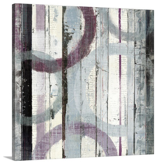 Purple wall art contemporary artwork raleigh by for Purple wall art