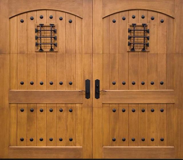 Clopay Custom Wood Garage Doors Southwestern Shed