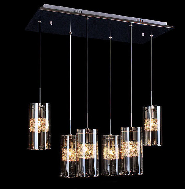 Modern Crystal LED Down Pendant Lighting