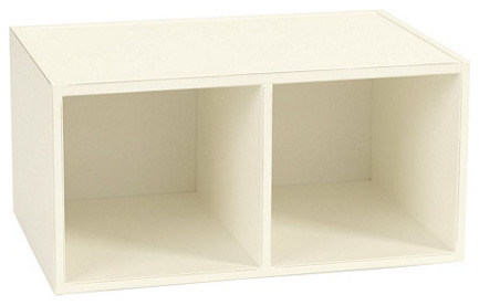 Abbeville Divided Stacking Cabinet - Contemporary - Bookcases - by Ballard Designs