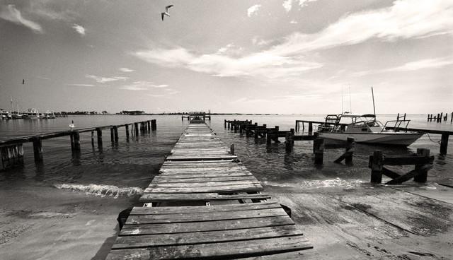 Old rickety fishing pier biloxi mississippi fine art for Fishing in biloxi ms