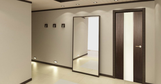 Loda modern interior door wenge finish modern interior doors new york by modern home luxury - Modern home luxury doors ...