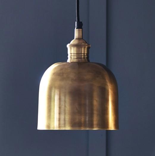 Flori Brass Pendant
