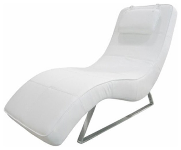Soho Upholstered Chaise CS1110P BRN contemporary indoor chaise lounge chairs
