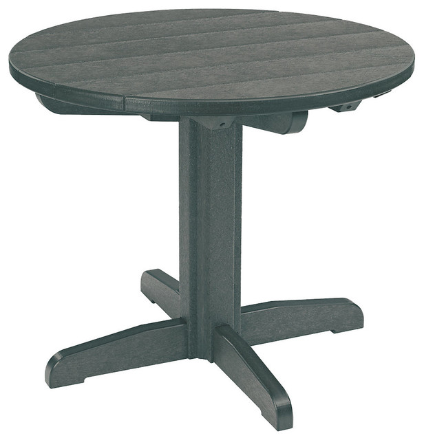 33 Round Dining Pedestal Table Slate Contemporary Garden Dining A