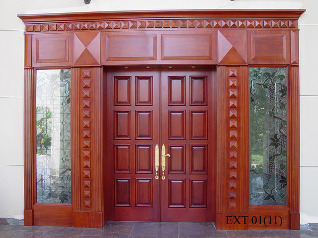 Main door traditional furniture other by al for Traditional main door design