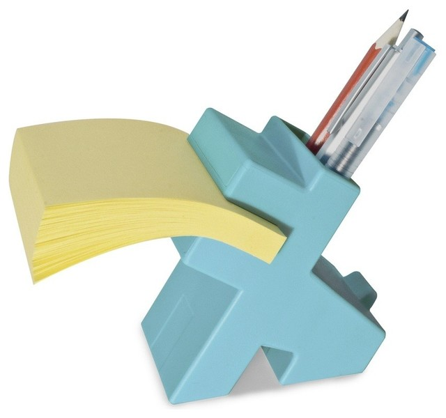 Lucky Sticky Pad Holder Modern Desk Accessories By