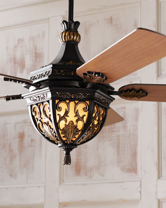 Quot Lambrusco Quot Ceiling Fan Traditional Ceiling Fans By Horchow