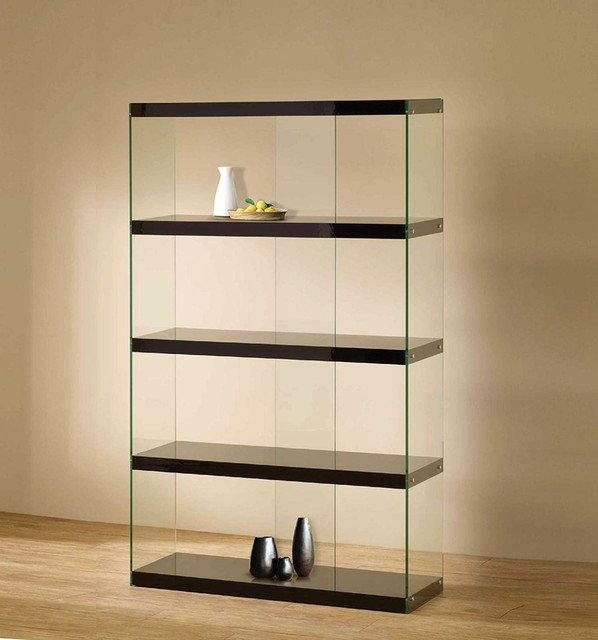 Tempered Glass Display Cabinet - Modern - Home Office Accessories - new york - by FurnitureNYC