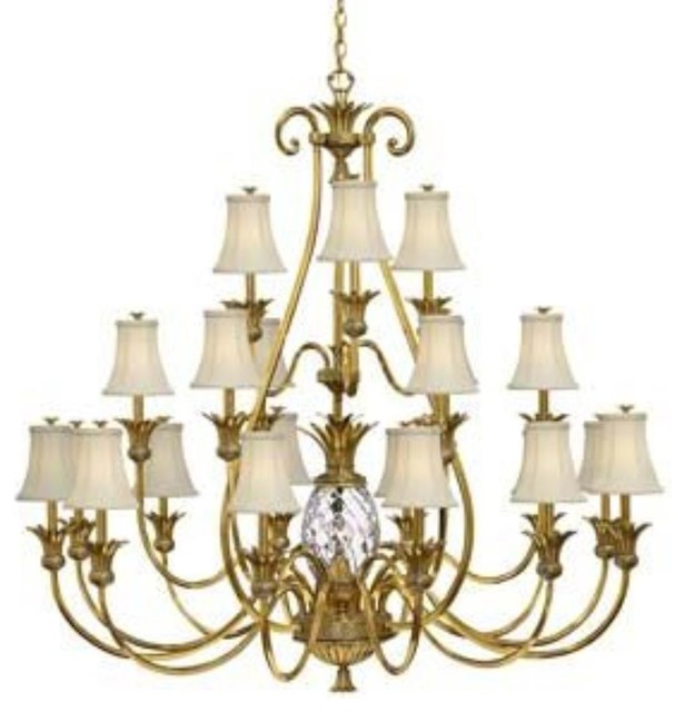 Hinkley 4889BB Plantation Chandelier Transitional Chandeliers By 1STOPl