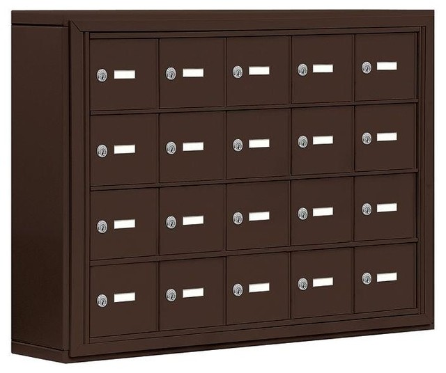 Salsbury Industries Lockers 19000 Series 37 in. W x 25.5 in. H x 6.25 in. D 20 - Contemporary ...
