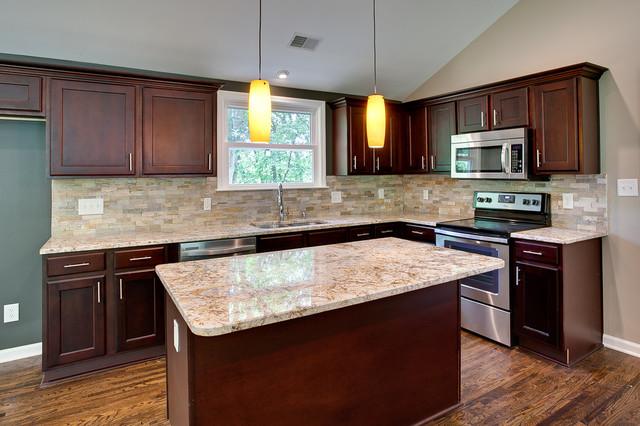 York Espresso Kitchen traditional-kitchen-cabinetry