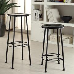 Royce metal stool for Home decorators royce