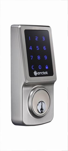 Touch Screen Digital Deadbolt Lock Industrial Door