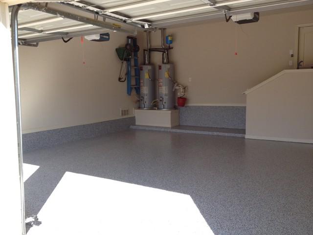 Garage Flooring Remodel In Leon Springs Texas Modern