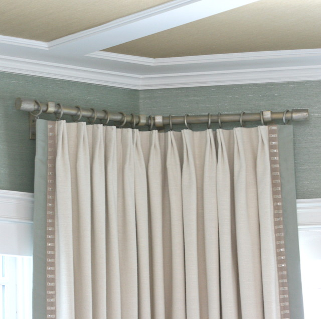 Curtains Rods. Custom Drapery Hardware And Curtain Rods Can ...