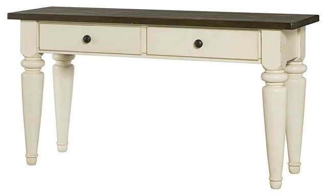 Sofa Table in White contemporary-console-tables