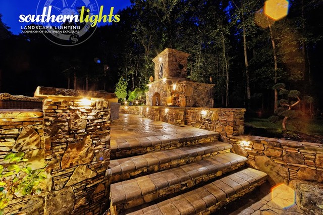 Landscape Lighting Raleigh : Landscape lighting photos by clarolux craftsman