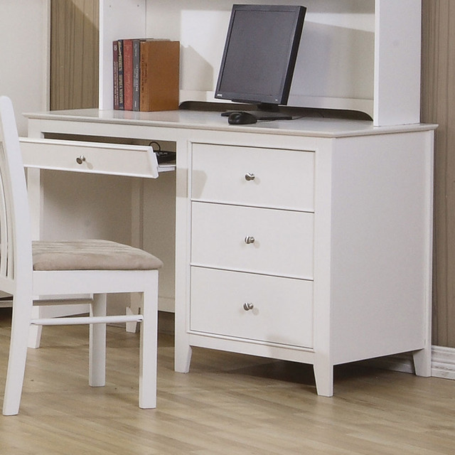 Hermosa Beach Computer Desk - Modern - Home Office Accessories