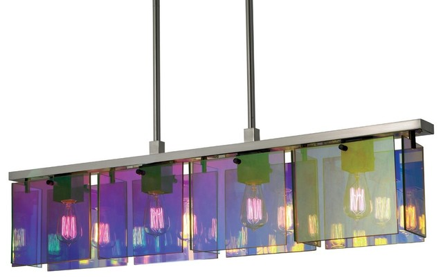 sonneman lighting rectangular kitchen island billiard