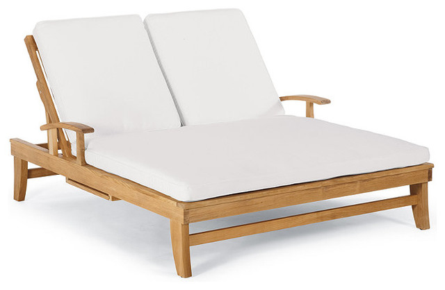 Melbourne Double Chaise Cover Sand Traditional Indoor