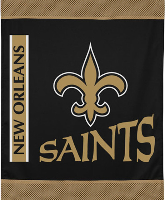 New Orleans Saints Home Decor: NFL New Orleans Saints Football Logo Wall Hanging Accent