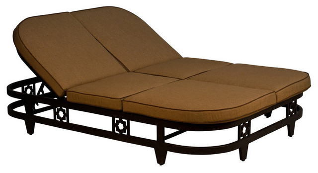 Kokomo deluxe double chaise lounge with cushion outdoor for Chaise longue tours
