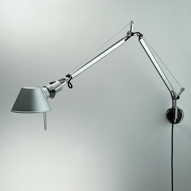 Tolomeo Mini With Wall Bracket Industrial Swing Arm Reading Lights Other Metro By