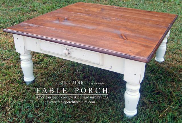 farm house coffee table 2