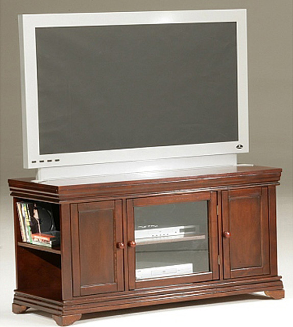 KD TV Stand - Cherry Finish - Modern - Entertainment Centers And Tv ...