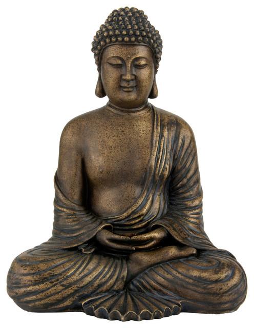 12 japanese meditating buddha statue asian home decor - Bouddha statue deco ...