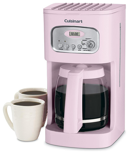 Cuisinart DCC-1100PK Pink 12-cup Programmable Coffeemaker - Contemporary - Coffee Makers - by ...