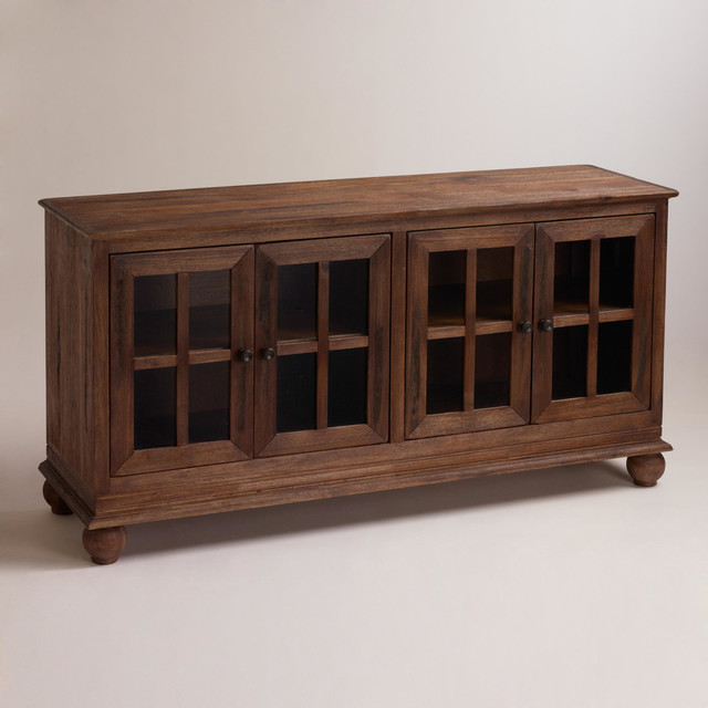 Rustic Rustic Java Greyson Sideboard: Brown Wood - Rustic - Buffets And Sideboards - by Cost ...