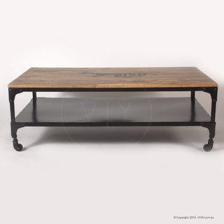 Kent Industrial Coffee Table Industrial Coffee Tables Melbourne By Viya