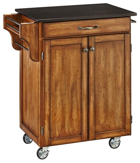 Portable Kitchen Cart - Contemporary - Kitchen Islands And ...