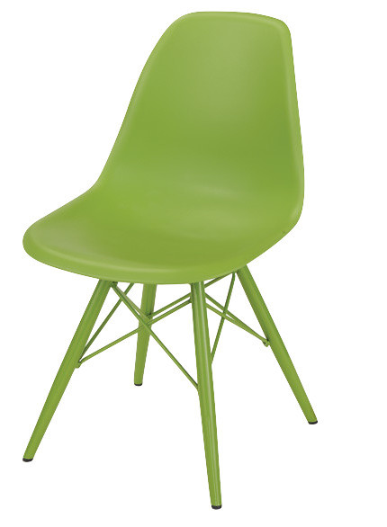 Lime green dining room chairs