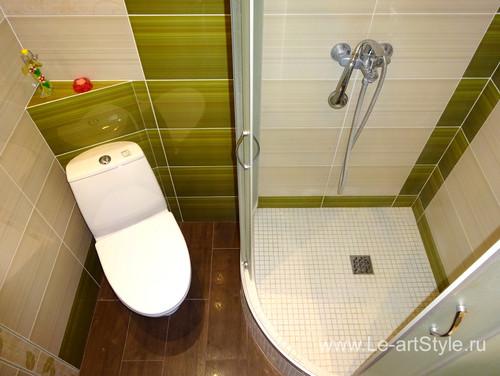 Как сделать душ в ванной с поддоном