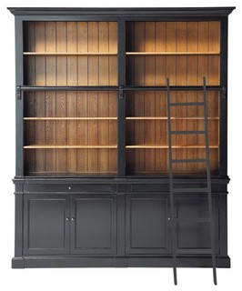 Versailles Bookcase Traditional Bookcases By Maisons