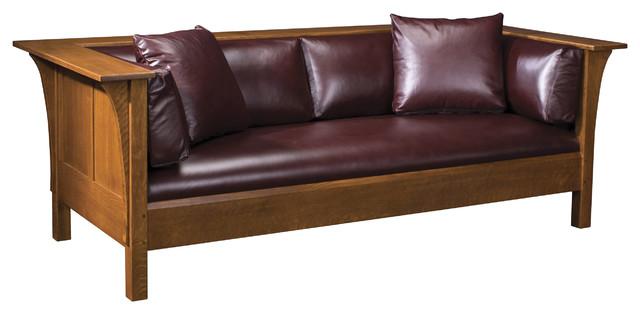 Prairie Settle - Mission Craft Furniture