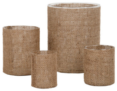 Burlap Vases Eclectic Vases By Jayson Home