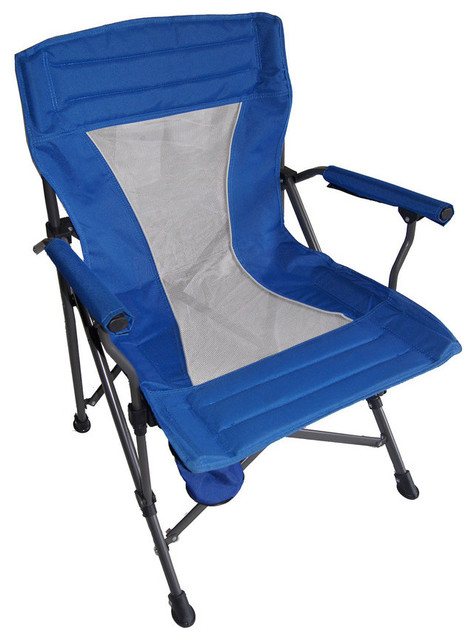 Portable Folding Blue Chair Modern Outdoor Folding Chairs by Ore Intern