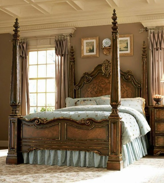 beladora king poster bed hooker furniture