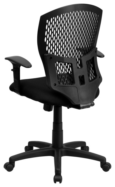 Flash Furniture Chairs Plastic Back Chairs Contemporary Office Chairs By Arcadian Home