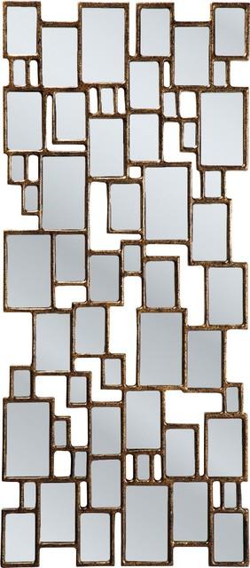 Spiegel cubes copper 132x54cm modern spiegel von for Kare design gmbh