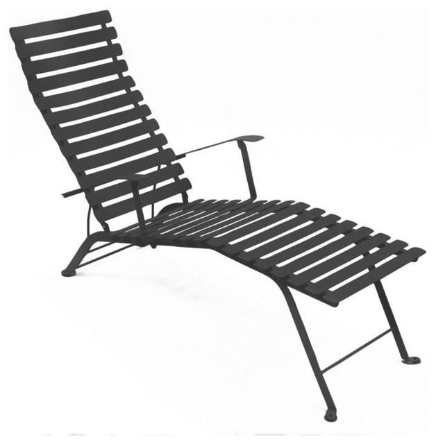 bistro liegestuhl bauhaus look gartenliegen. Black Bedroom Furniture Sets. Home Design Ideas